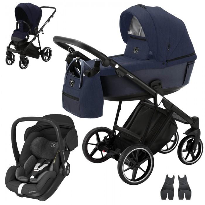 Adamex Belissa Standard + Maxi-Cosi Marble wózek wielofunkcyjny 3w1 + baza isofix