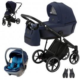Adamex Belissa Standard + BabySafe York wózek wielofunkcyjny 3w1