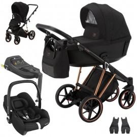 Adamex Belissa Special Edition + Maxi-Cosi Tinca wózek wielofunkcyjny 3w1 + baza isofix