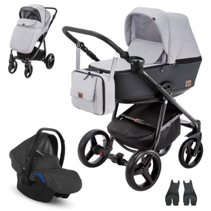 Adamex Reggio Y-58 z fotelikiem Kite 0-13kg - wózek 3w1