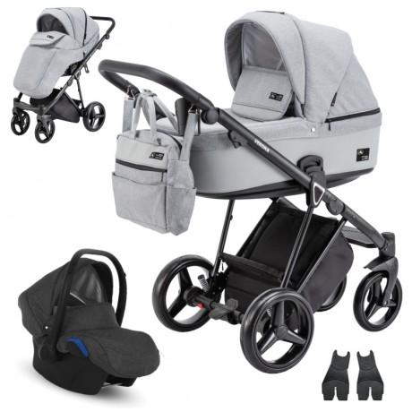 Adamex Verona VR-204 z fotelikiem Kite 0-13kg - wózek 3w1