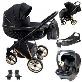 Adbor OXV-3D + BabySafe York wózek wielofunkcyjny  3w1 + baza isofix
