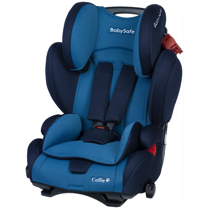 Fotelik BabySafe Collie 9-36kg Niebieski