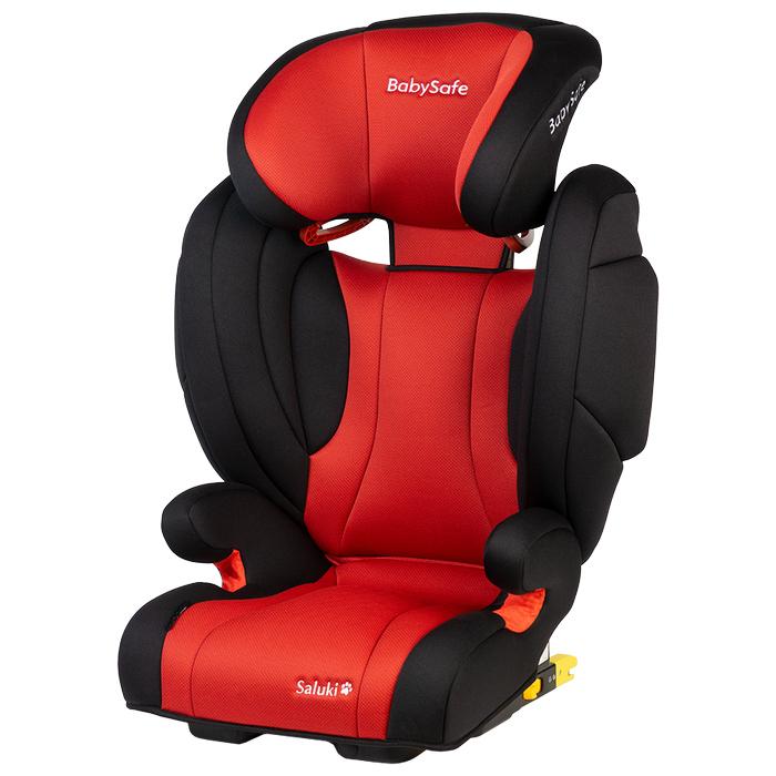 Fotelik BabySafe Saluki 15-36kg Czerwono-Czarny