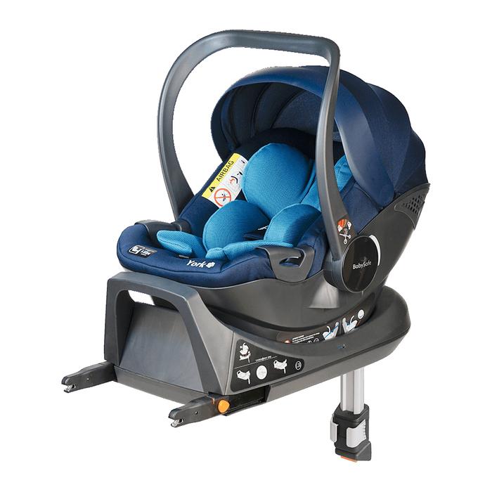 Fotelik BabySafe York i-Size niebieski