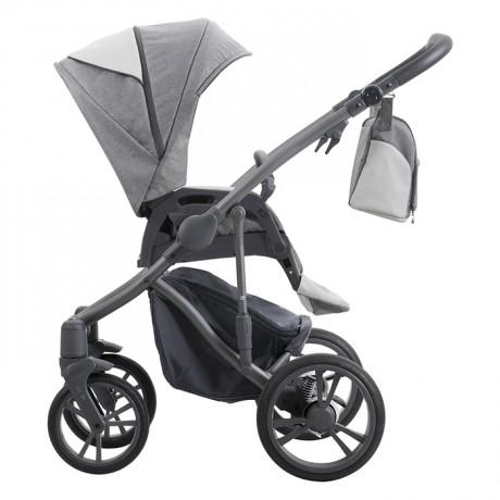 Bebetto Bresso Grey + Maxi-Cosi Rock i-Size + FamilyFix One