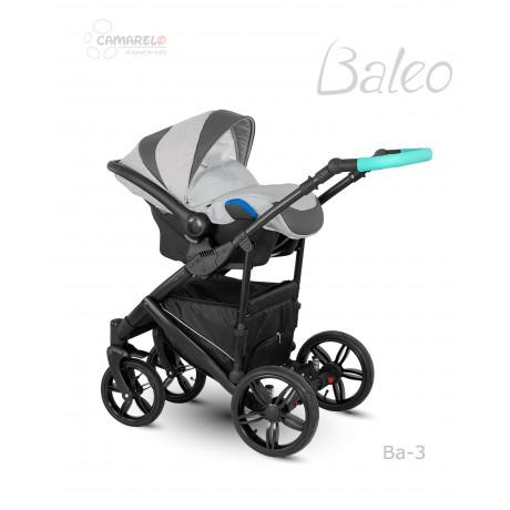 Camarelo Baleo 03 z fotelikiem Kite 0-13kg - wózek 3w1