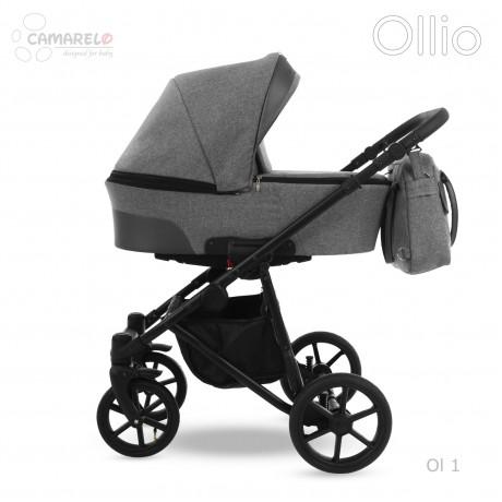 Camarelo Ollio 01 z fotelikiem Kite 0-13kg - wózek 3w1