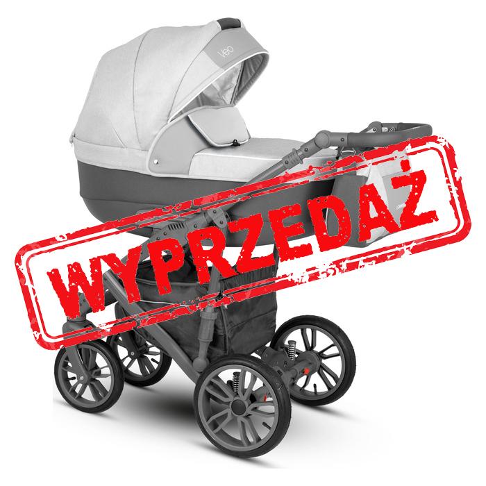 Wyprzedaż -10% - Camarelo Veo wózek wielofunkcyjny 2w1 kol. 04