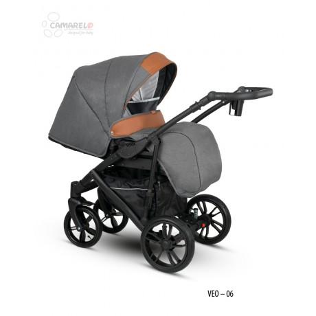 Camarelo Veo 06 z fotelikiem Kite 0-13kg - wózek 3w1