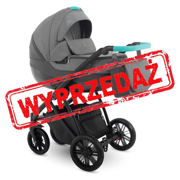 Wyprzedaż -15% - Camarelo Zeo wózek wielofunkcyjny 2w1 kol. 04