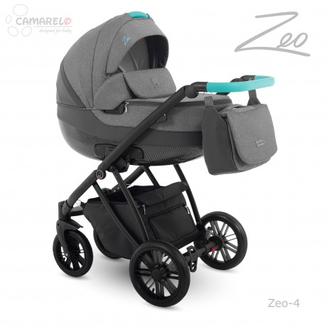 Camarelo Zeo 04 z fotelikiem Kite 0-13kg - wózek 3w1