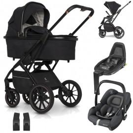 Cavoe Axo + Maxi-Cosi Tinca wózek wielofunkcyjny 3w1 + baza isofix