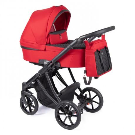 Coletto Dante wózek wielofunkcyjny 4w1 z fotelikiem BabySafe York i bazą Isofix