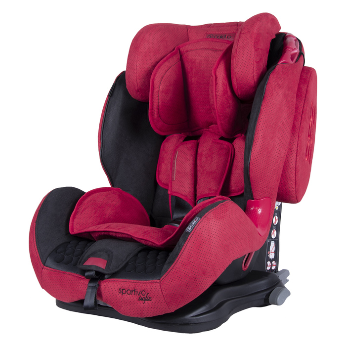 Fotelik Coletto Sportivo Isofix 9-36kg Red