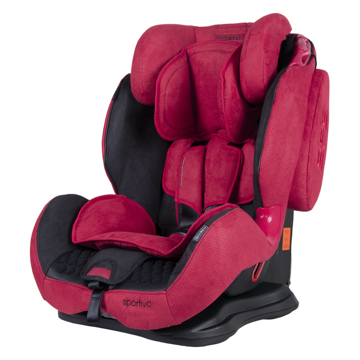 Fotelik Coletto Sportivo 9-36kg Red