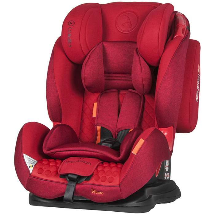 Fotelik Coletto Vivaro 9-36kg Red