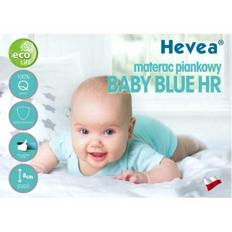 Materac piankowy Hevea Baby Blue 120/60 (Natural)