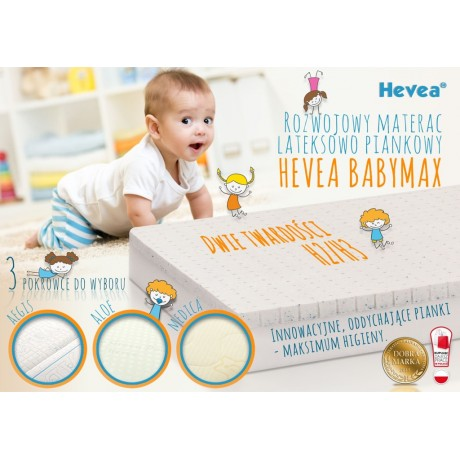 Materac z lateksem Hevea Baby Max