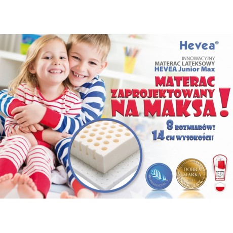 Materac lateksowy Hevea Junior Max 200x90