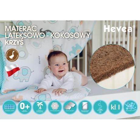 Materac lateksowo-kokosowy Hevea Krzyś