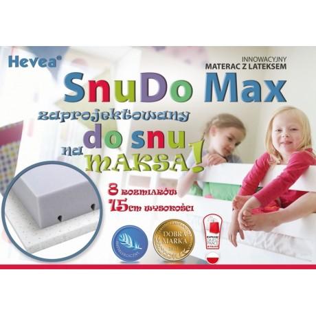 Materac z lateksem Hevea Snudo Max 200x90