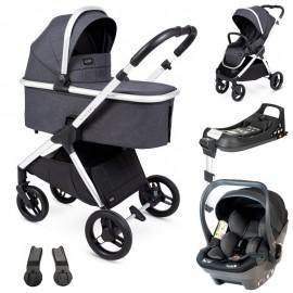 Insevio Dolphin z BabySafe York wózek 3w1+ baza Isofix