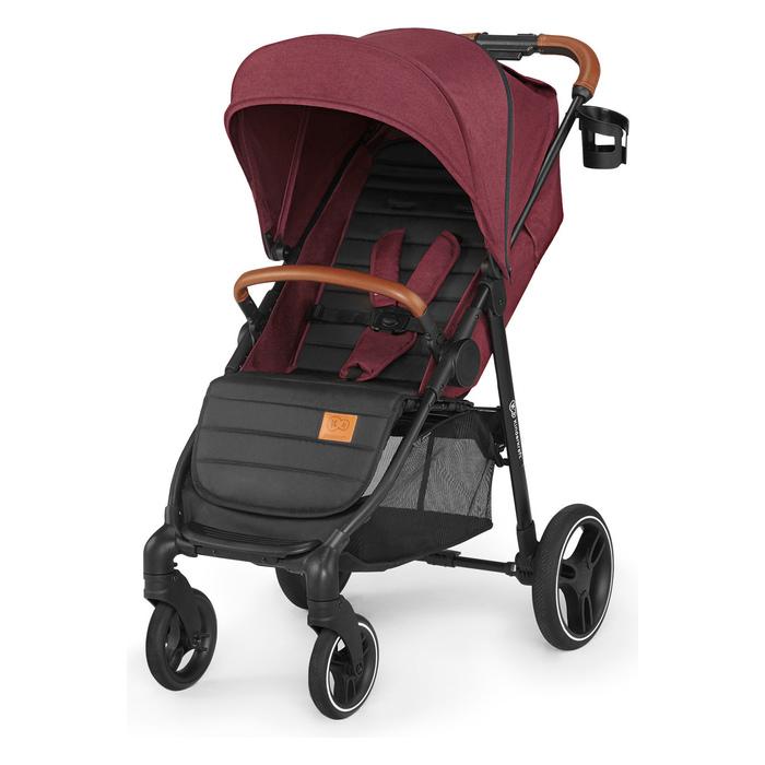 Wózek spacerowy Kinderkraft Grande LX burgundy