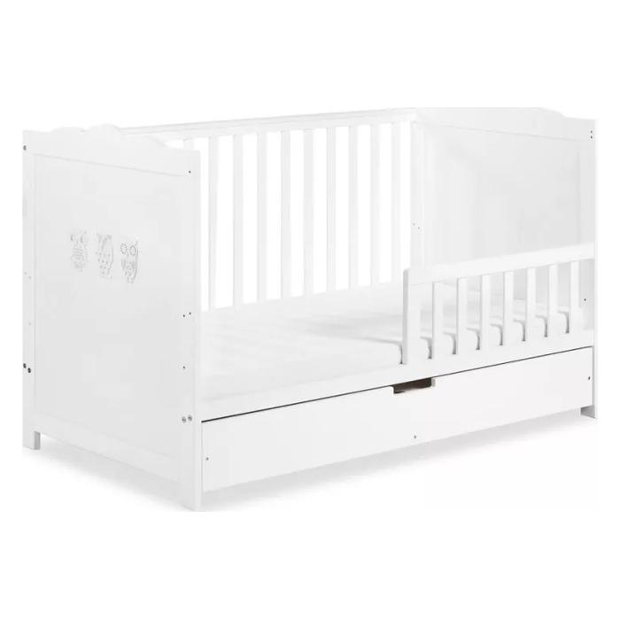 Łóżko 140x70 Marsell z szufladą i barierką ochronną