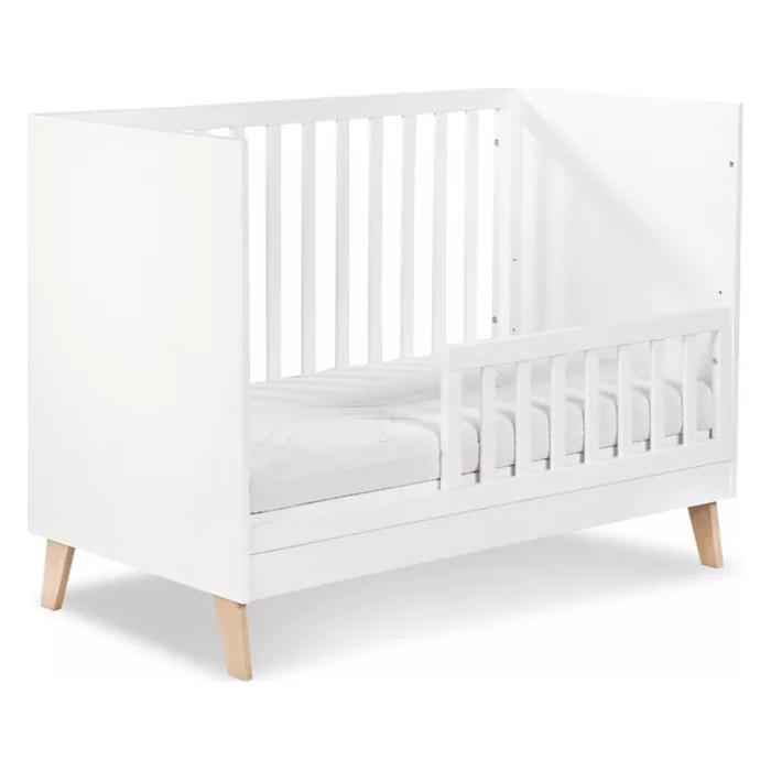 Łóżeczko 120x60 Noah z barierką ochronną