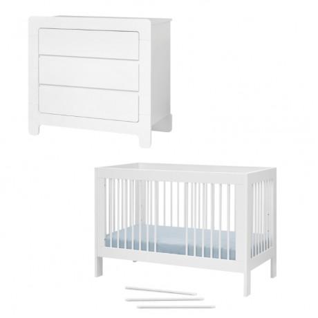 Pinio Basic zestaw mebli dla niemowlaka