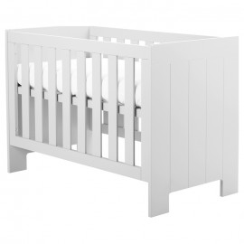 Pinio Calmo białe łóżeczko 120x60
