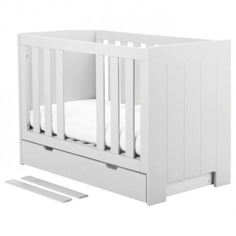 Łóżeczko 120x60 Pinio Calmo białe