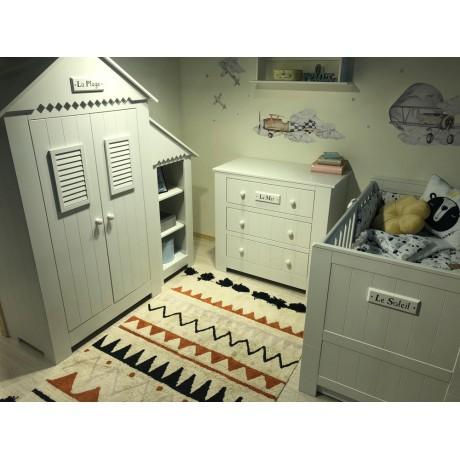 Pinio Marsylia MDF zestaw mebli dla niemowlaka