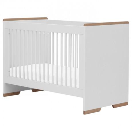 Łóżeczko 120x60 Pinio Snap białe