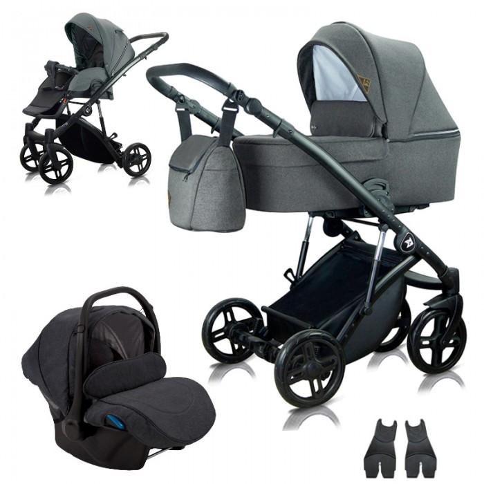 Milu Kids Atteso 04 z fotelikiem Kite 0-13kg - wózek 3w1