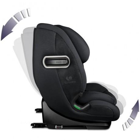 Fotelik samochodowy Renolux Olymp Carbon 76-150 cm R129 i-Size