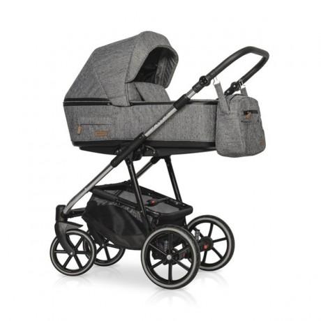 Riko Swift Premium Titanium z fotelikiem Kite 0-13kg - wózek 3w1