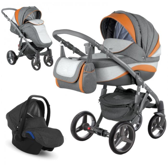 Wózek wielofunkcyjny Adamex Barletta New z fotelikiem Kite 0-13kg