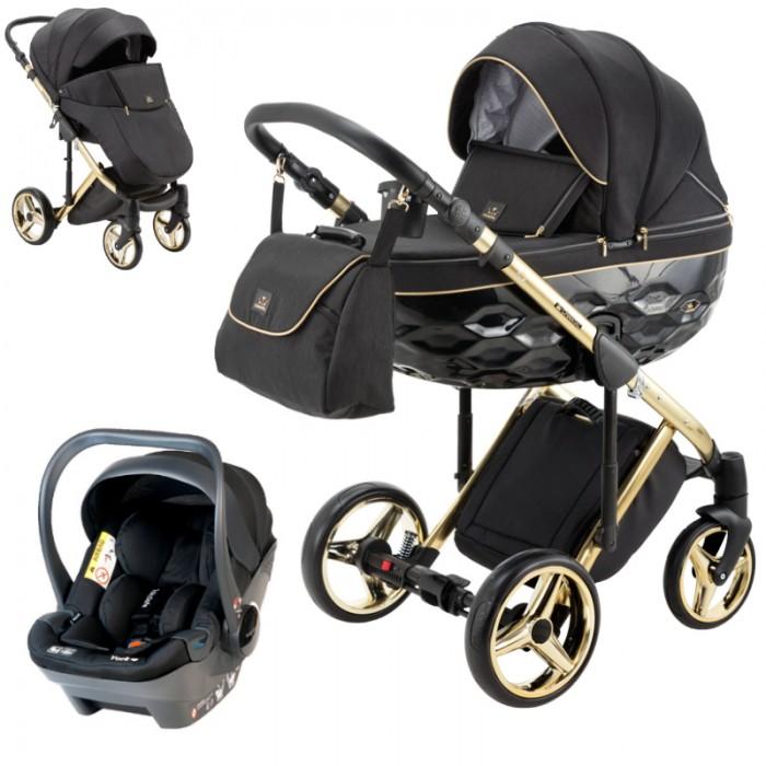 Wózek wielofunkcyjny Adamex Chantal Special Edition z fotelikiem Babysafe York