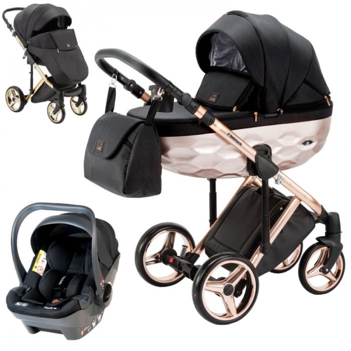 Wózek wielofunkcyjny Adamex Chantal Star Collection z fotelikiem Babysafe York