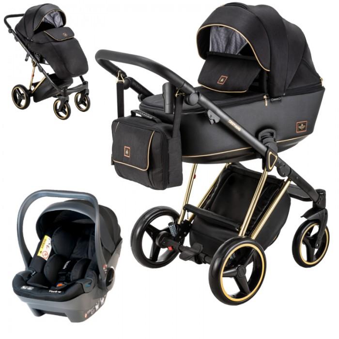 Wózek wielofunkcyjny Adamex Cristiano Special Edition z fotelikiem Babysafe York
