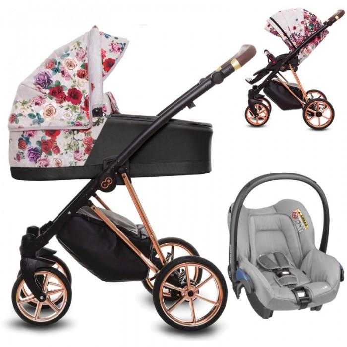 Wózek wielofunkcyjny Babyactive Musse Rose z fotelikiem Maxi-Cosi Citi
