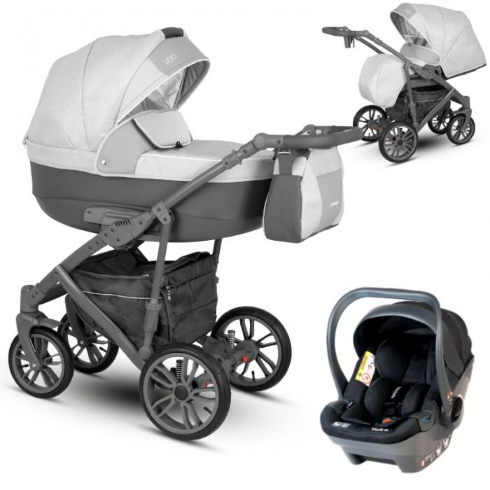 Camarelo Veo z fotelikiem Babysafe York wózek wielofunkcyjny 3w1
