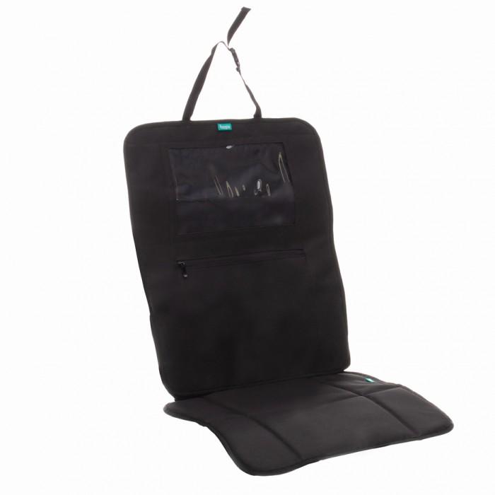 Mata ochronna pod fotelik samochodowy wraz z kieszenią na tablet Zopa