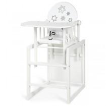 Klupś Aga III Gwiazdki krzesełko do karmienia