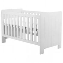 Pinio Calmo łóżeczko-tapczanik 140x70 białe
