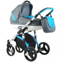Wózek Coneco Lavita 03 niebieski