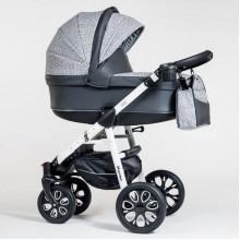 Wózek  Paradise Baby Maximo Eko kol. 27 + fotelik Kite 0-13kg (3w1)