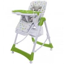 Krzesełko do karmienia Sunbaby Laura zielone